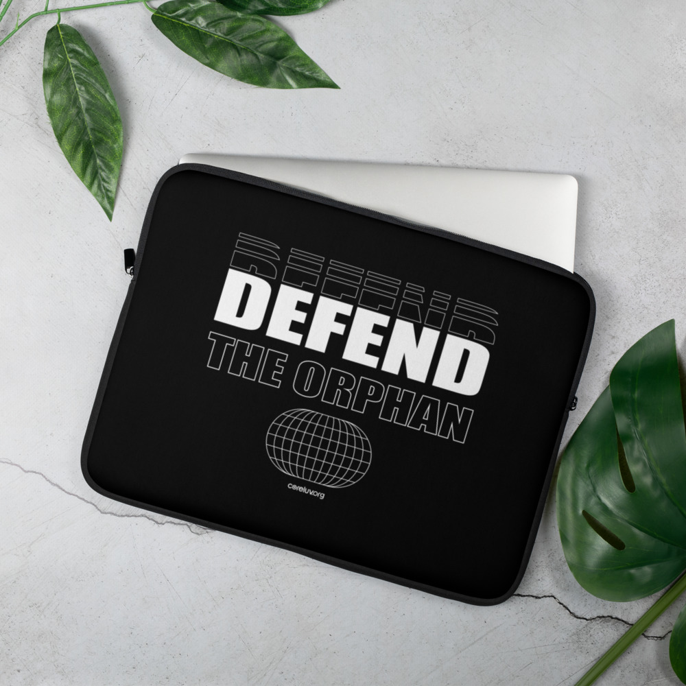 Defend the Orphan Laptop Sleeve